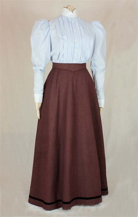 edwardian skirt fan skirt worn   sewing pattern