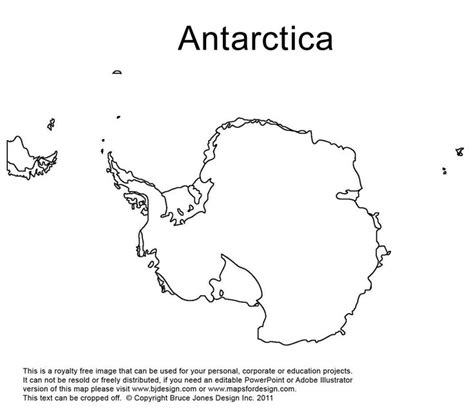 printable map with pins antarctica south pole outline printable map royalty free