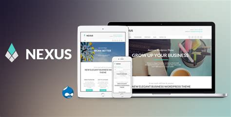 themes drupal nulled nexus elegant business drupal theme free download free