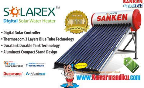 Water Heater Tenaga Surya marketing kamarmandiku pemanas air tenaga surya