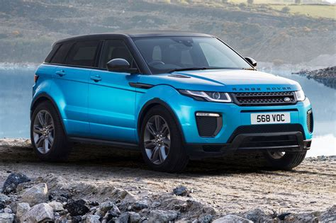 blue land rover range rover evoque blue pixshark com images