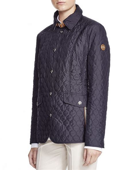 Quilted Clothing by Basler Quilted Jacket In Black Lyst