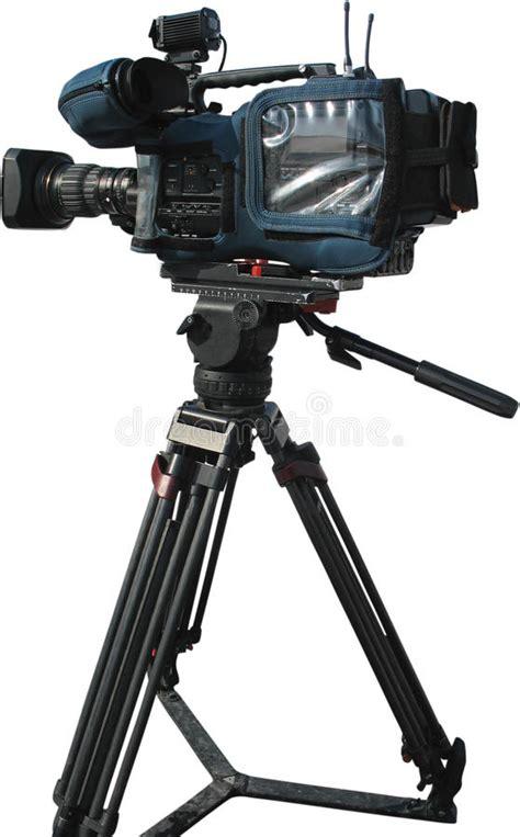 camara digital de video c 225 mara de v 237 deo digital profesional de la tv en el tr 237 pode