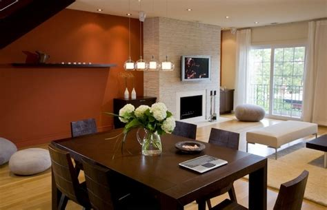 dining room accent wall burnt orange accent wall memes