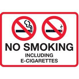 no smoking signs canada e cigarettes canada