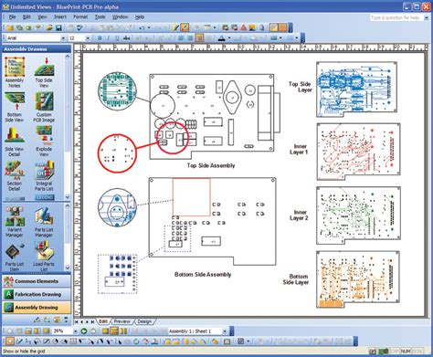 software to create blueprints blueprint pcb automating the documentation process