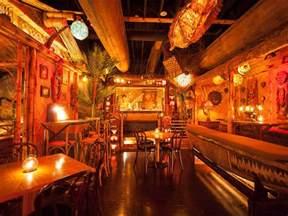 Tiki Floor L by Pacific Seas L A S Newest Most Extravagant Tiki Bar