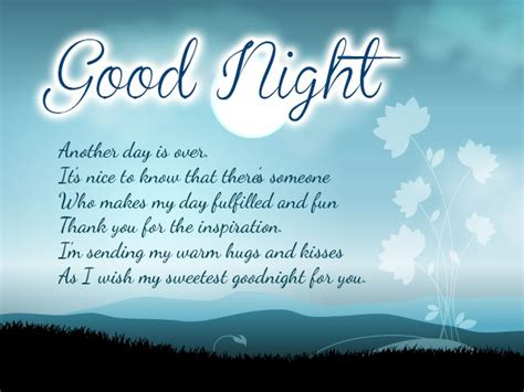 good night messages wishes and quotes for friends and family