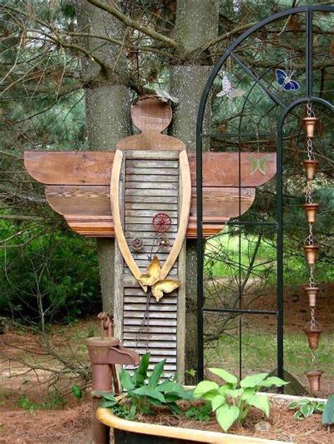 Primitive Kitchen Decorating Ideas by Diy Yard Art And Garden Ideas