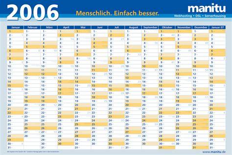 December 2006 Calendar Kalender 2006 Die Zweite Hostblogger De