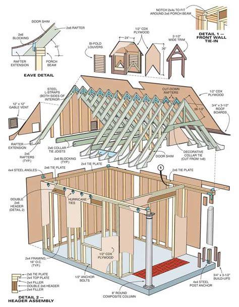yard barn plans shed blueprints yard shed plans explored