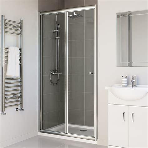 Shower Cabin Bi Fold Shower Doors 1000mm
