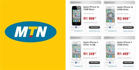 get an iphone from mtn for as as r1 249 htxt africa