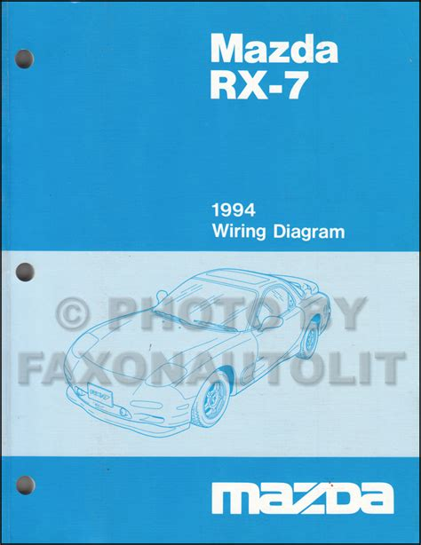 automotive repair manual 1994 mazda rx 7 parental controls 1994 mazda rx 7 wiring diagram manual original rx7