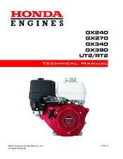 Honda Gx390 Manuals