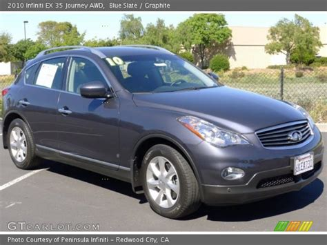 how to sell used cars 2010 infiniti ex on board diagnostic system blue slate 2010 infiniti ex 35 journey awd graphite interior gtcarlot com vehicle