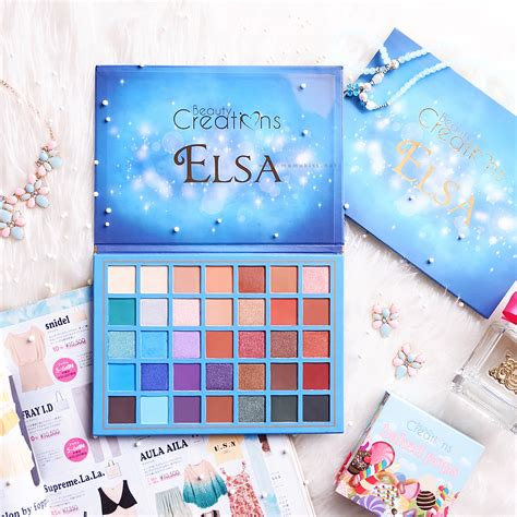 beauty creations review beauty creations elsa palette eat sleep kiss