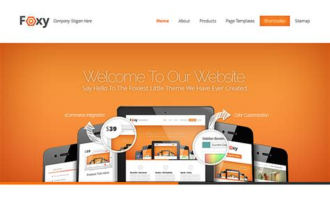 elegant themes gallery page template foxy wordpress theme