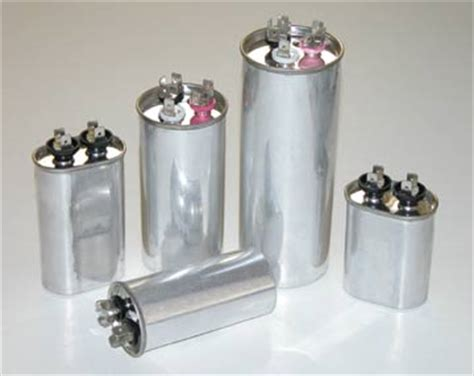 capacitor or condenser capacitors for central air conditioners and heat pumps