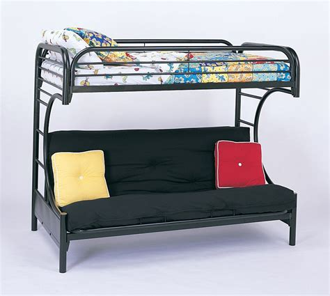 futon beds with mattress included futon bunk bed with mattress included