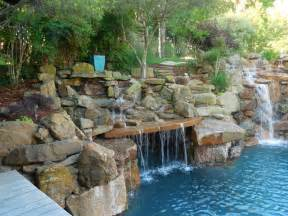 Outdoor Backyard Lighting Ideas Tropical Oasis As Seen On Animal Planet The Pool Master