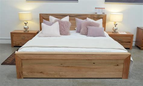 Jarrah Bedroom Furniture Marri And Jarrah Metropol Or King Bed Wa Made General Furniture Homewares