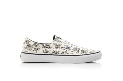 Vans Authentic Bandana Pack Black White sneakers all you want vans doren white skulls