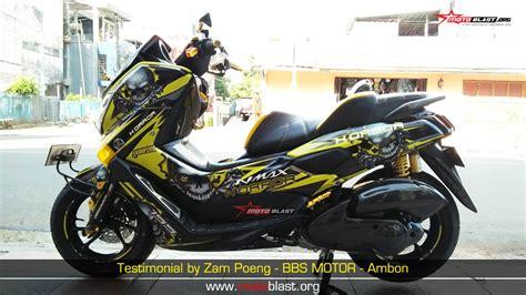 Probolt Gold Yamaha Nmax yamaha nmax modifikasi maximal horror skull yellow motoblast