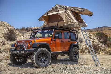Jeep Tent Roof Overland Roof Tent Smittybilt Jeep Wrangler Jk Offex Pl