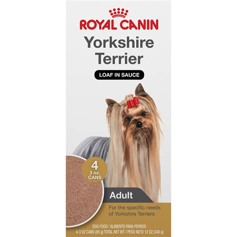 royal canin for yorkies royal canin breed health nutrition terrier loaf in sauce food multipack