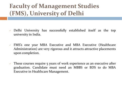 Best Colleges For Executive Mba In Delhi by Ppt Top Executive Mba Colleges In India Powerpoint
