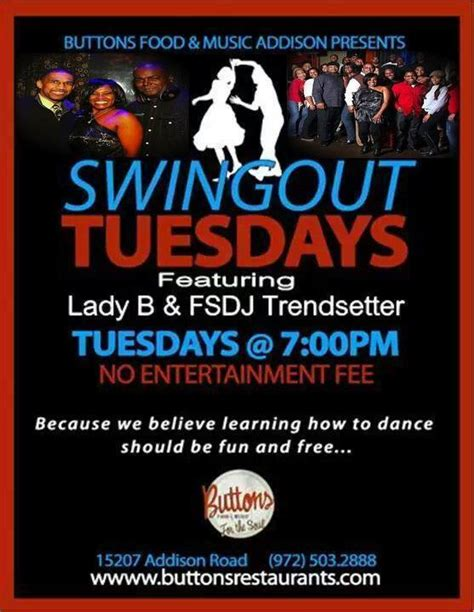 swing out dance lessons dallas tx addison buttons swing out tuesday shauna brown 187 dfw