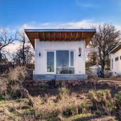 4 couples build their own tiny cabin micro community