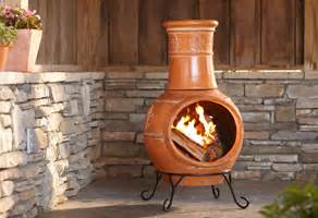 home depot chiminea clay outdoor pits at the home depot