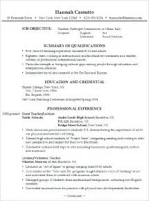 Warehouse Worker Sle Resume by Objective Resume Objective Preschool Assistant Resume Sle Middle School