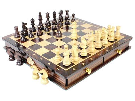 Chess Sets magnetic chess set pieces rose wood galaxy staunton king