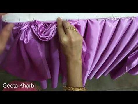 type idea buffet table skirting jhalar parde curtain