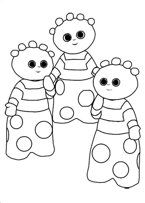 in the night garden coloring pages12 coloring kids