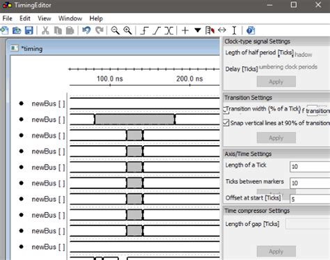 timing diagram editor 4 free timing diagram software
