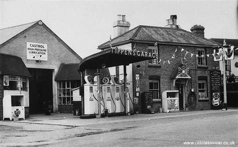 1960s Garage by Tippen S Garage In 1953 Coronation Year And In The 1960s