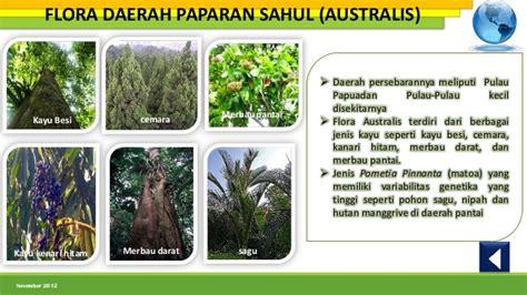 flora dan fauna indonesia persebaran flora dan fauna di indonesia nia amelia 1001850