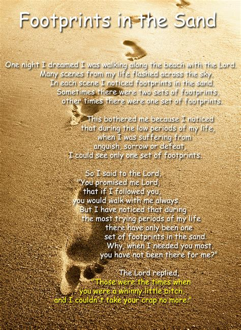 printable version footprints in the sand best photos of free printable footprints poem footprints