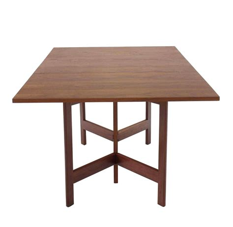 Nelson Dining Table George Nelson Walnut Drop Leaf Dining Table For Sale At 1stdibs