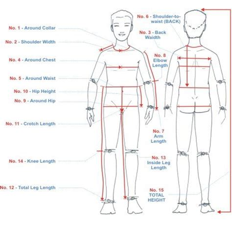 body measurement chart templates   sewing tips   pinterest