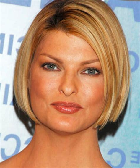 best bob for thinning hair round faces best hairstyles for a round face