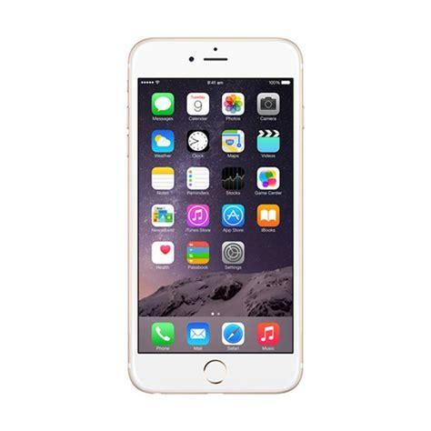 Iphone 6 16 Gb Resmi Garansi Ibox Gold jual apple iphone 6 16gb smartphone gold garansi resmi