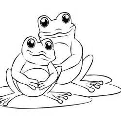 frog coloring page frog coloring pages