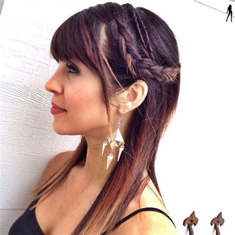 edgy hairstyles with braids 42 best edgy hairstyles images on pinterest haircut
