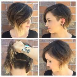 hair with sides shorter than back 21 adorable asymmetrical bob hairstyles for women styles weekly