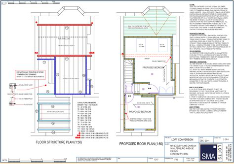 3 Bedroom Flat Plan Drawing loft conversions chiswick w4 conversion extensions experts
